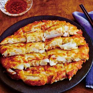 ダブル大根のチーズチヂミ