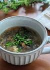 もずくの酸辣湯スープ