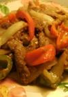 牛肉とピーマンの炒め物☆ペッパーステーキ