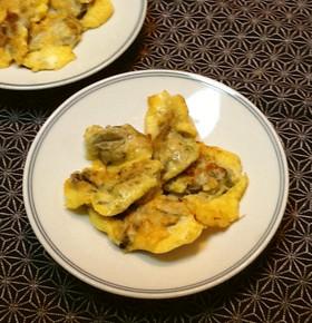 牡蠣って美味しい☆牡蠣のチーズピカタ