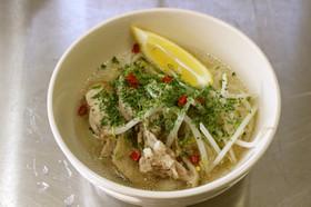 米麺でベトナム フォー風