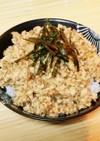 チアシード♡鶏胸と豆腐でしっとりそぼろ丼