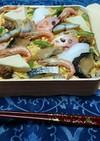 お祭りにはばら寿司