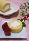 基本のロールケーキ