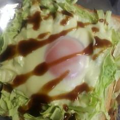 簡単!お好み焼き風トースト