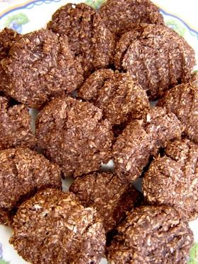 おからで健康♪ココナッツチョコクッキー