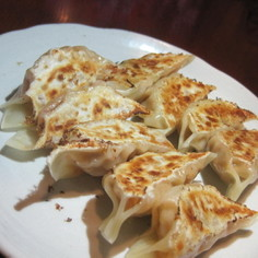 キムチ納豆餃子