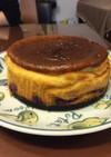 ミキサーでベイクドチーズケーキ(^-^)