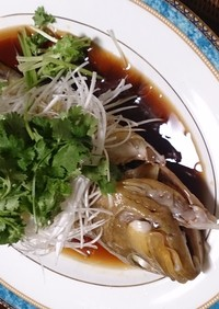一流中華店に負けない清蒸鮮魚(アオハタ)