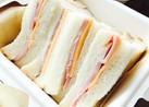 ハム&チェダーチーズサンドイッチ☆