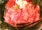 明太子&マグロたたき丼