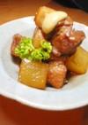 豚と大根の(かさ増し)角煮♪