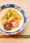 北海道料理 藤半の筍とふきの煮物