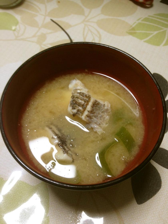 エソの味噌汁