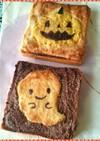 ほぼメロンパンなトースト☆ハロウィン版★