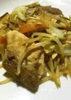 簡単!ハマチと野菜の醤油マヨ炒め♪