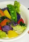 紫芋のドイツ風ポテトサラダ