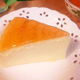 しゅわ〜っと♡スフレチーズケーキ♡