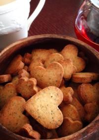 ココナッツオイルアールグレイクッキー