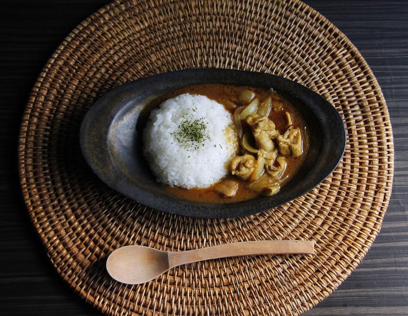 鶏肉と舞茸の簡単カレー