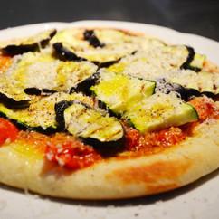 焼き野菜のフライパン ピザ