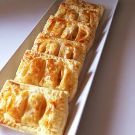 冷凍パイシートでアップルパイ&洋梨パイ