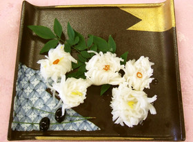 華やか 菊花かぶ