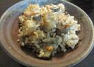 茄子と干しエビの炊き込みご飯☆