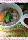 鶏・手羽元と鶏・もつMix&冬瓜の煮物