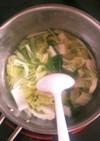 ホエー入りお味噌汁