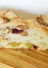 栗 胡桃 クランベリー レーズンのパン