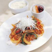 スパゲッティナポリタン、アクアヴィーノスタイル