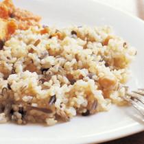 玄米と豆のご飯