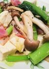 あと一品!の小松菜とチーズのさっと炒め