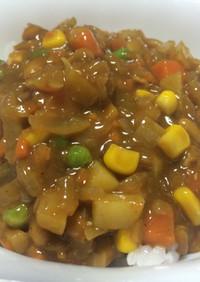俺流!簡単…野菜納豆カレー