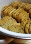 卵白1個*カリッと薄焼き胡麻クッキー