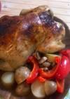 ローストチキン(オーブンで丸焼き)