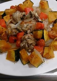 アレンジ自在!チキンと野菜のグリル