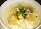 ウェイパーde キノコと野菜のスープ