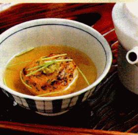 shin☆の焼きおにぎりのお茶漬け