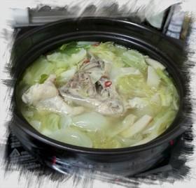 とっても簡単★手羽元のピリ辛生姜鍋