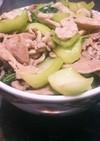 豚小間と青梗菜のあんかけ丼