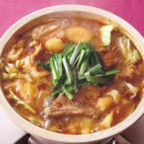 豚スペアリブのカムジャタン鍋