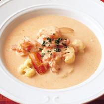 えびのビスク風スープ