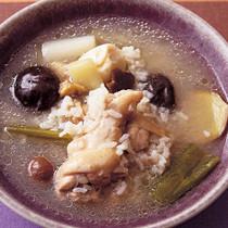 手羽元の参鶏湯(サムゲタン)