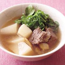 牛肉と大根のスープ