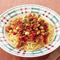 大豆たっぷりミートスパゲッティ