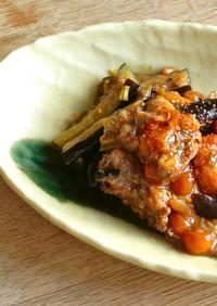 和美食 きのこたっぷり鶏肉となすの炒め物