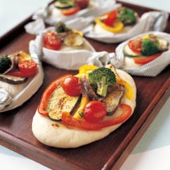 野菜のフォカッチャ