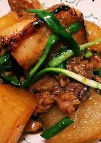 豚バラと大根の蜂蜜サッパリ煮